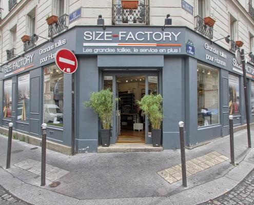 Horaires d'ouverture  Service Clients Size Factory élargi