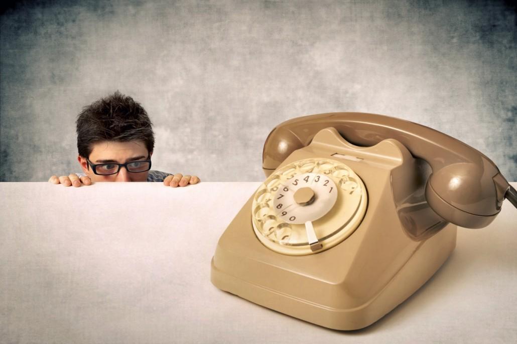 Peur de l'émission d'appel en démarchage commerciale
